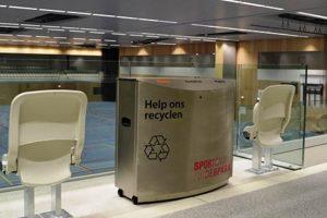 Openbare ruimte afvalbak FF3