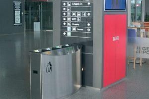 Openbare ruimte afvalbak FF4