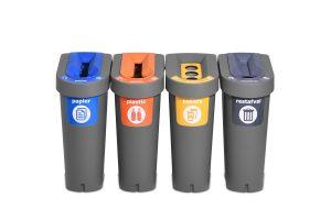 poubelle séparer des déchets éducation