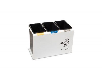 vuilnisbak afvalscheiden compact systeem